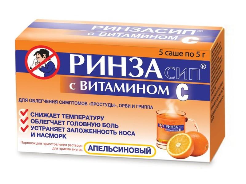 Описание лекарственного средства ринза