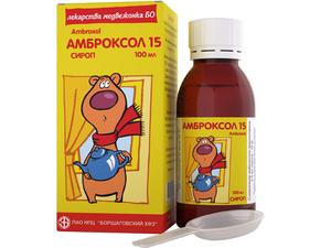Детский сироп Амброксол
