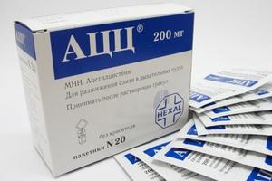 Свойства лекарства АЦЦ для лечения кашля и принцип его действия