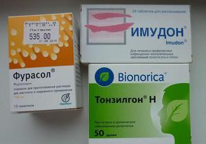 Лечение хронического ларингита медикаментами