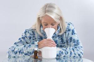 Ингаляции небулайзером от сильного кашля у беременных женщин