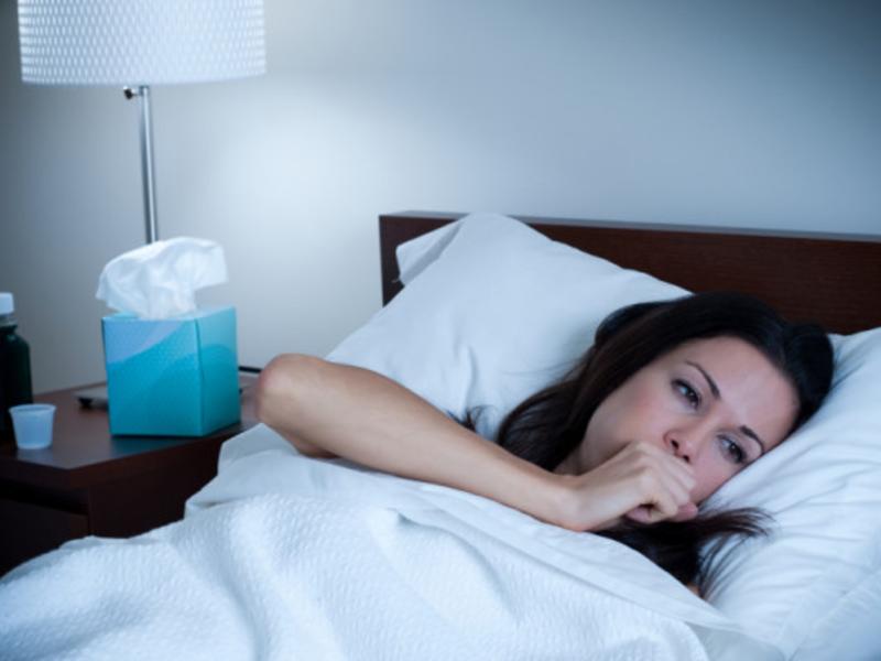 Облегчит состояние при ночном кашле