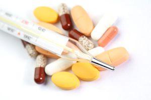 Жаропонижающие препараты принимать не нужно, если тепмпература ниже 38 градусов