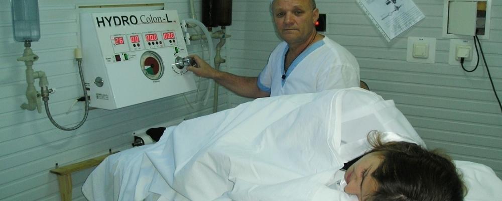 Процедура гидроколонотерапии