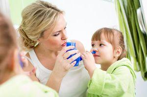 Как лечить затяжной насморк у детей