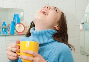 Промывание лакун в домашних условиях