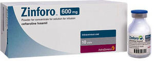 Зинфоро - современный антибиотик, инструкция