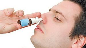 Закапывать в нос
