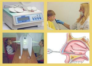 Лазеротерапия атрофического ринита у детей