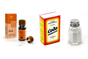 Содовый раствор для полоскания горла
