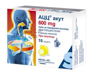 АЦЦ Hot Drink - качественный отхаркивающий препарат при кашле и бронхите
