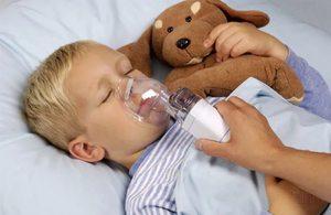 Лечение небулайзером сухого кашля