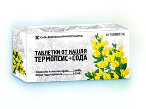 Форма выпуска препарата термопсис
