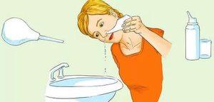 Солевоц раствор для промывки носа