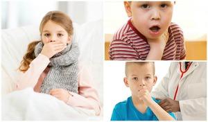 Надрывный кашель при коклюше