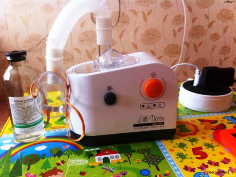 Ингалятор Little doctor LD-250U - небулайзер ультразвукового типа