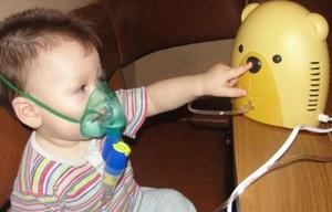 Использование небулайзера для ингаляций детям