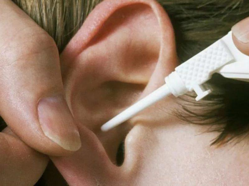 Способ избавления от корочки в ухе