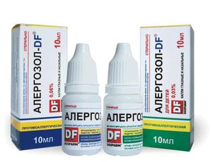 Капли в нос при аллергическом насморке