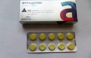 Как еще применяется раствор фурацилина