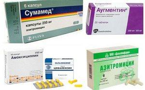 Лечение стафилококка медикаментами